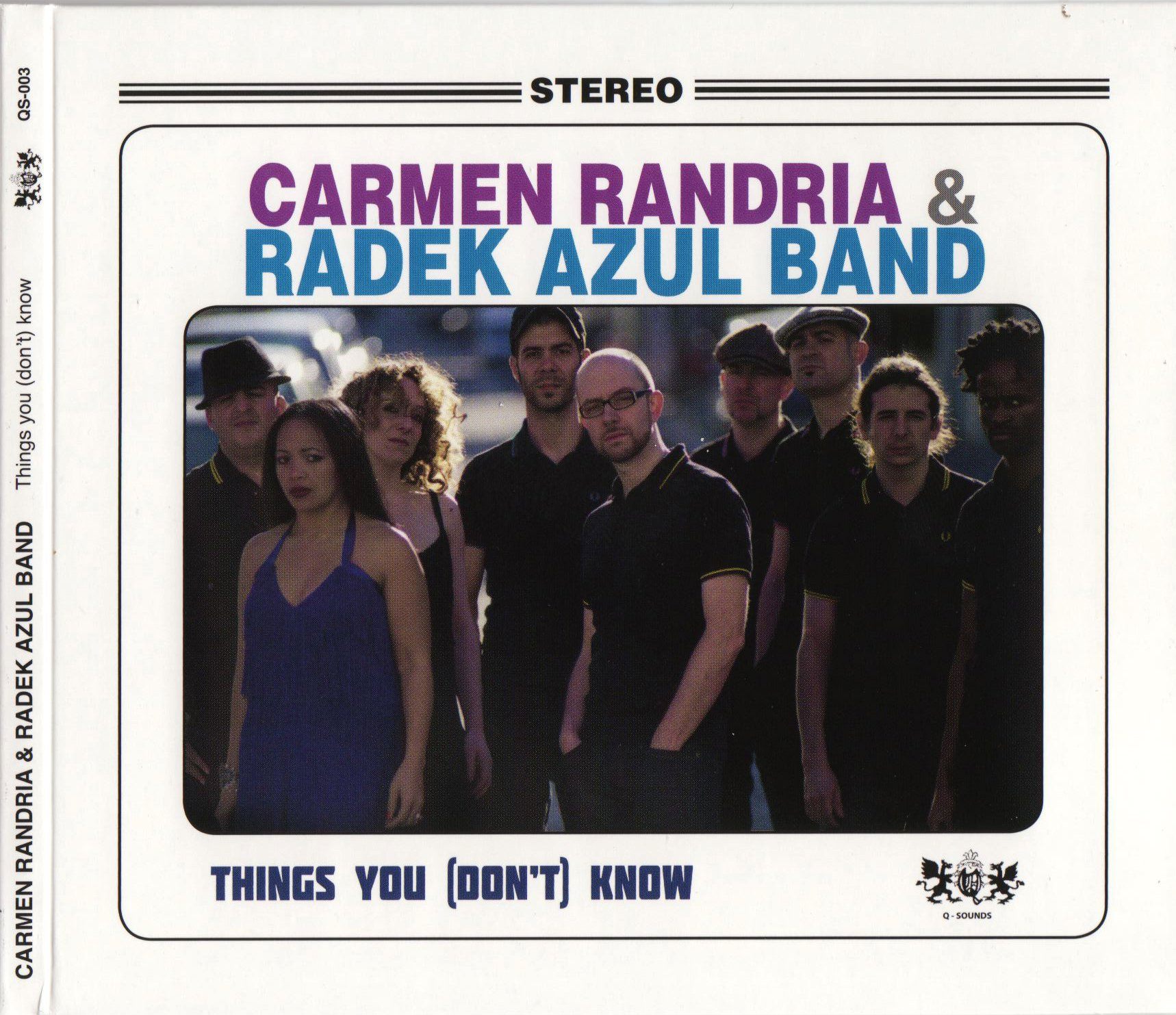 Carmen Randria And Radek Azul Band / Fool For You (Things You Dont Know – Q-Sounds – 2011)