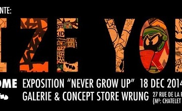 DIZE & YOME x INAUGURATION CONCEPT STORE x GALERIE WRUNG
