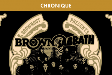BROWNOUT PRESENTS BROWN SABBATH : FUNKY BLACK SABBATH