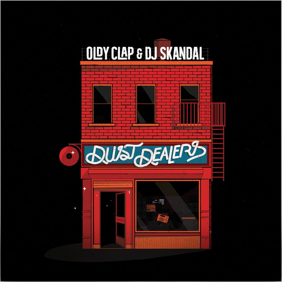 OLDY CLAP & DJ SKANDAL : DUO DE DUST DEALERS