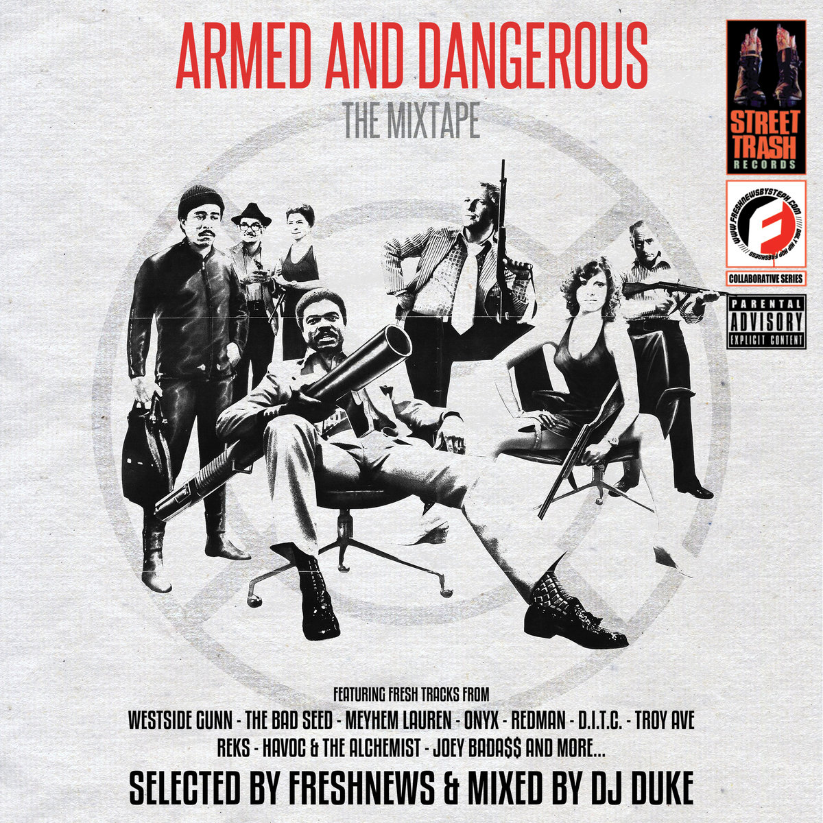 « ARMED AND DANGEROUS » : NOUVELLE MIXTAPE PAR FRESHNEWS & DJ DUKE (FREE DOWNOAD)