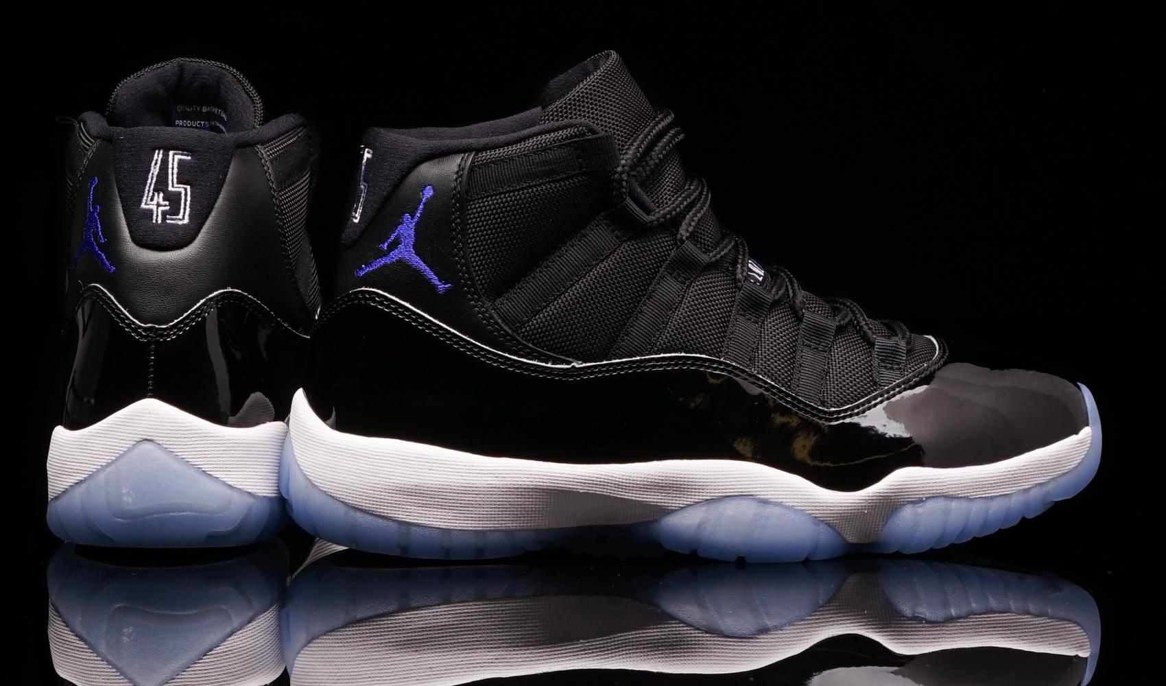 Space Jam Shoes Blue