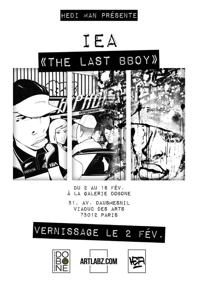 EXPOSITION IEA « THE LAST BBOY »