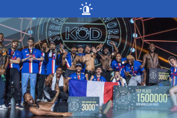 LA FRANCE CHAMPIONNE À LA KOD STREET DANCE WORLD CUP 2018