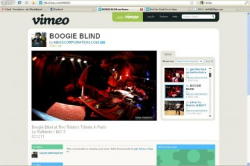 Dj Boogie Blind (live) / Roc Raida's Tribute – Part 3