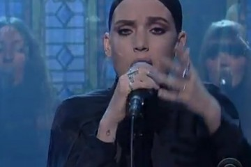 Lykke Li / Silent My Song – (Live at David Letterman)