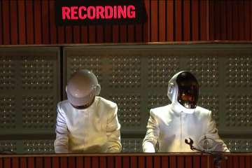 Daft Punk, Nile, Pharell & Stevie @ Grammys