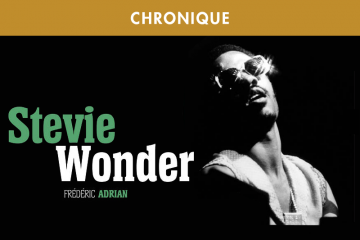 FREDERIC ADRIAN : STEVIE WONDER