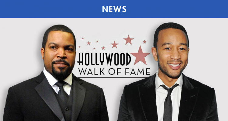 WALK OF FAME : ICE CUBE, JOHN LEGEND, NEW EDITION, HALL & OATES RÉCOMPENSÉS