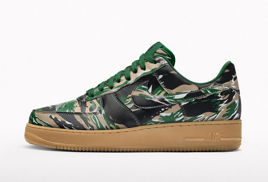 KICK OF THE WEEK #012 : NIKE AIR FORCE 1 ID REFLECTIVE CAMO