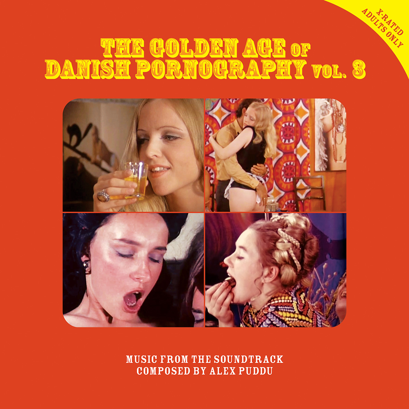 ALEX PUDDU : THE GOLDEN AGE OF DANISH PORNOGRAPHY VOL.3