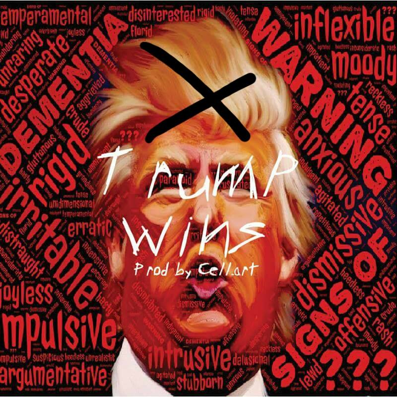 FREESTYLE DE CHARLES X : TRUMP WINS (FREE DOWNLOAD)
