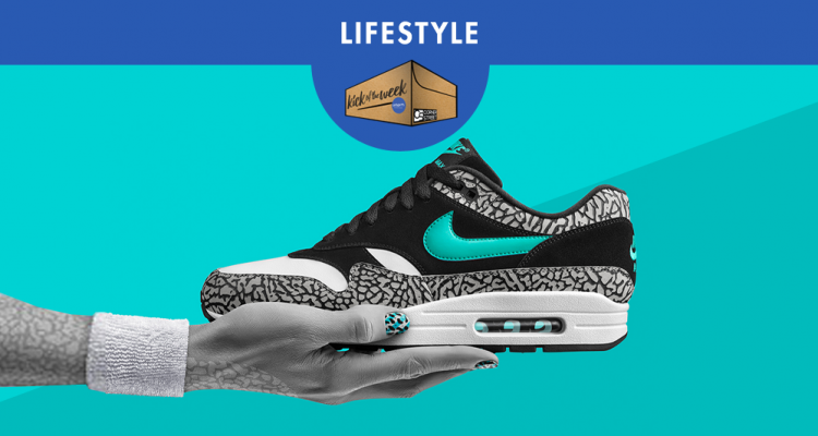 timeless design 9bfc7 178be KICK OF THE WEEK  29   NIKE AIR MAX 1 ATMOS ELEPHANT 2017