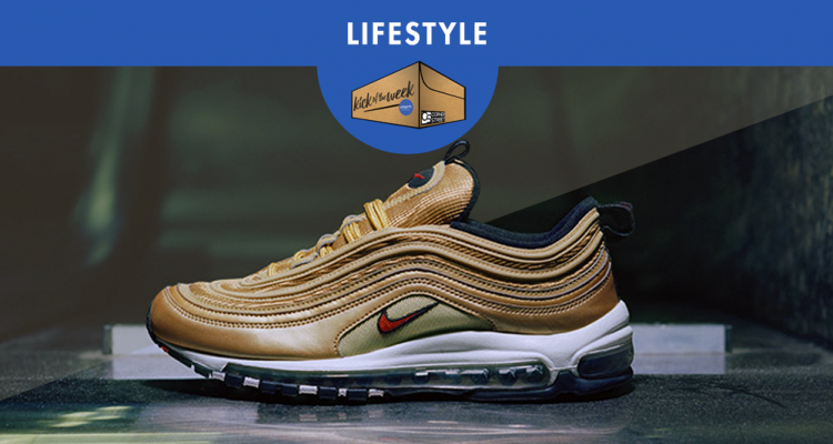 KICK OF THE WEEK #36 : NIKE AIR MAX 97 METALLIC GOLD