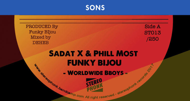 FUNKY BIJOU INVITE SADAT X & PHILL MOST CHILL POUR NOUS FAIRE BREAKER