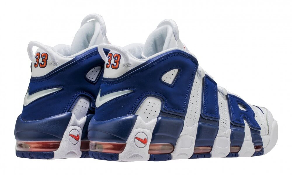KICK OF THE WEEK #042 : NIKE AIR MORE UPTEMPO KNICKS AKA « THE DUNK »