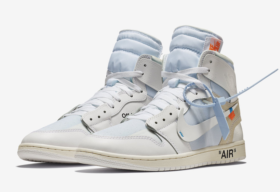 KICK OF THE WEEK #60 : OFF WHITE X AIR JORDAN 1 WHITE