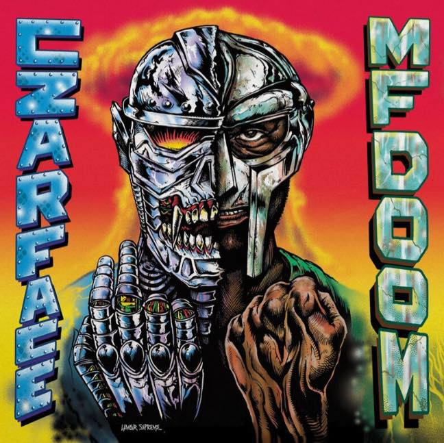 « NAUTICAL DEPTH » DE CZARFORCE X MF DOOM : MASQUES 2 FER