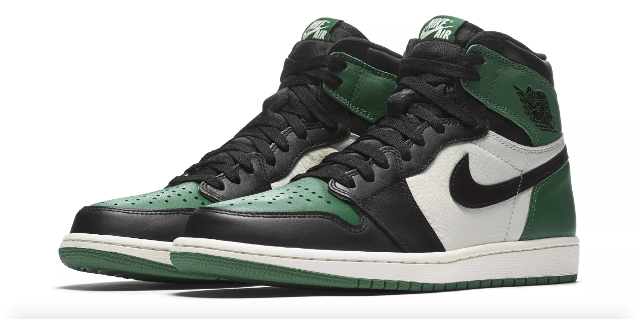 KICK OF THE WEEK #63 : AIR JORDAN 1 PINE GREEN