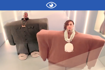 KANYE WEST & LIL PUMP : LE CLIP BIEN MARRANT DE « I LOVE IT »