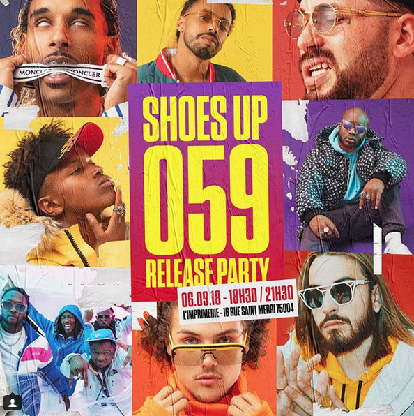 SHOES UP 059 : RELEASE PARTY